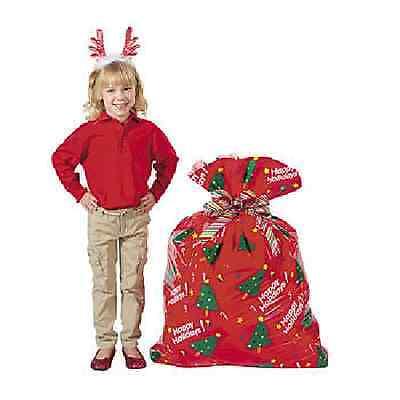 Christmas Plastic Jumbo Holiday Gift Bag](Jumbo Plastic Gift Bags)