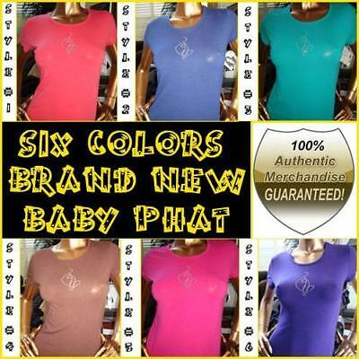 Baby Phat Baby Doll  tee shirts / free shipping! / new low (Baby Doll Tees Tops)