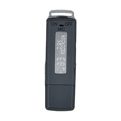 USB Digital Audio Voice Recorder Pen 8GB Disk Flash Drive Recording SK-868
