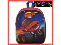 OFFICIAL BLAZE AND THE MONSTER MACHINES JUNIOR BACKPACK