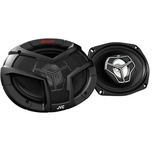 JVC  6x9 in 3 way Coaxial Car Speakers -NEW