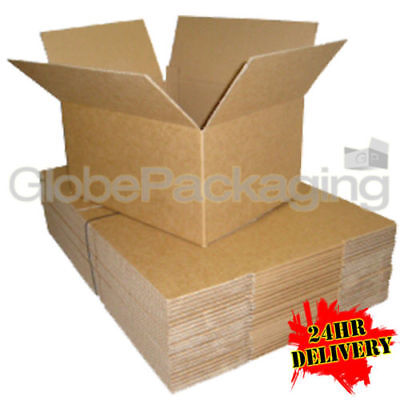 50 x 12x9x5 MAILING POSTAGE CARDBOARD BOXES 12