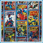Captain America Fabric
