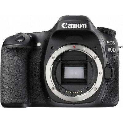 $864.99 - Canon EOS 80D 24.2 MP Dslr Digital slr camera (Body Only) - BRAND NEW WiFi