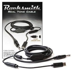 TWO Ubisoft RockSmith Real Tone Cables