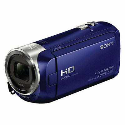HDR-CX240 Full HD Handycam Camcorder Blue with 54x Clear Image Zoom