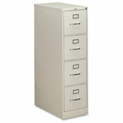 Hon 310 Series Vertical File With Lock - 15 X 26.5 X 52 - Metal - 4 X File