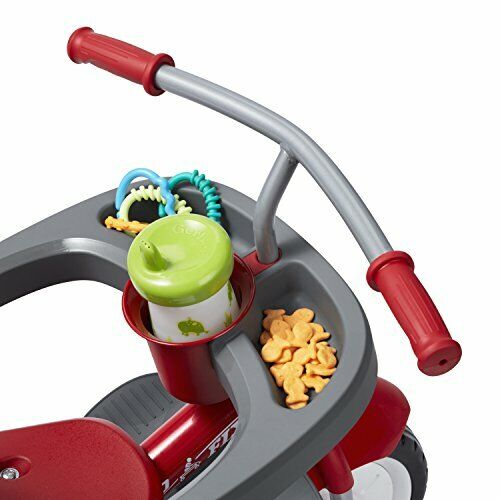 Radio Flyer 4in1 Stroll 'N Trike Red Toddler Tricycle for Ages 9 Months -5 Years (New - 270.93 USD)