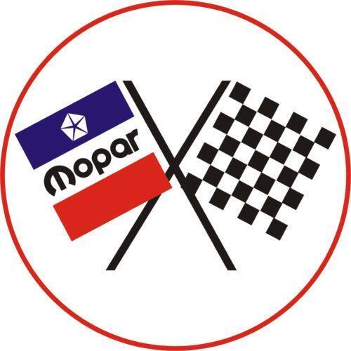 Mopar Racing Decal
