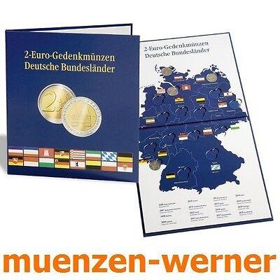 Leuchtturm Münzalbum für 16 x 2 € Deutsche Bundesländer Euro•Münze•Sammelalbum