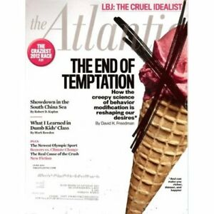 The Atlantic Magazine June 2012: The End of Temptation