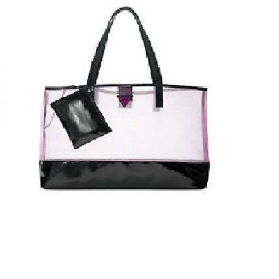 GUESS GIRL Pink / Black Large Tote Bag NEW