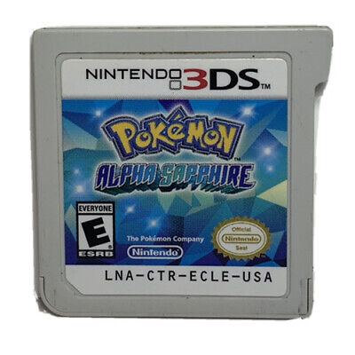 Pokemon Alpha Sapphire (Nintendo 3ds) - Pre Owned