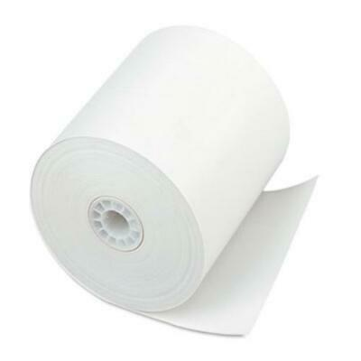 """Iconex 90781294 Direct Thermal Printing Thermal Paper Rolls, 3"""" X 225 Ft, White,"""