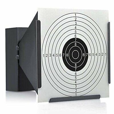 Objetivo Carpeta Metálico Para Piombini Carabina Aire Comprimido Rifle de