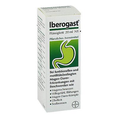 IBEROGAST fluessig 20ml PZN 00514644