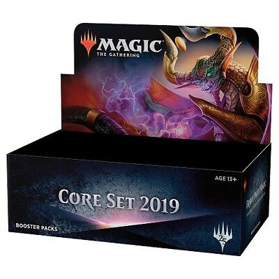 MAGIC MTG Core Set 2019 Booster Box FACTORY SEALED