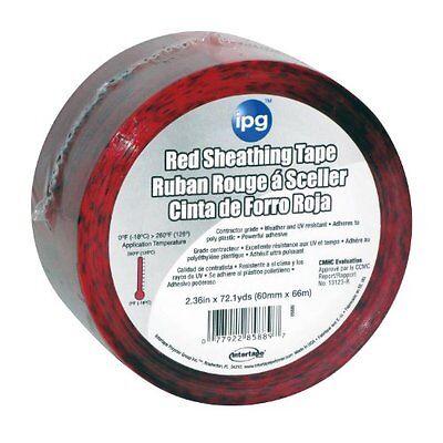 Intertape 85561 Sheathing Tape 1.88 X 54.6 Yards Red
