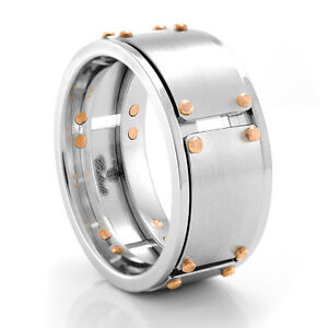 Williams Cobalt and Rose Gold 27 Piece Ring