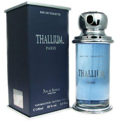 Thallium by Yves De Sistelle 3.3 / 3.4 oz EDT Cologne for Men New In Box