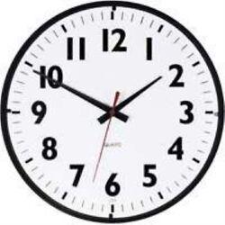 Westclox 14 Office Black White Clock