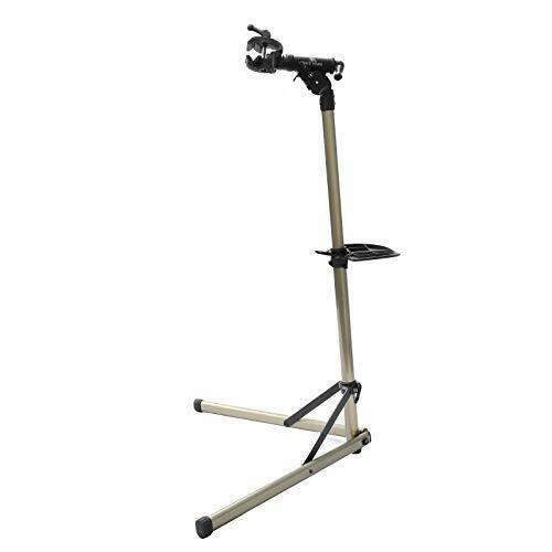 Bikehand Bike Repair Stand (Max 55 lbs) - Home Portable Bicycle Mechanics Workst