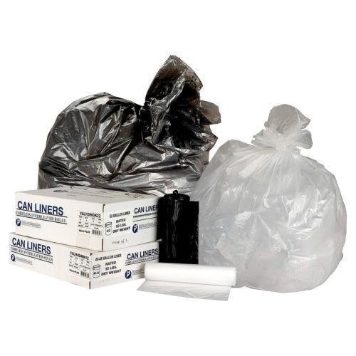 55 gallon trash bags ebay. Black Bedroom Furniture Sets. Home Design Ideas