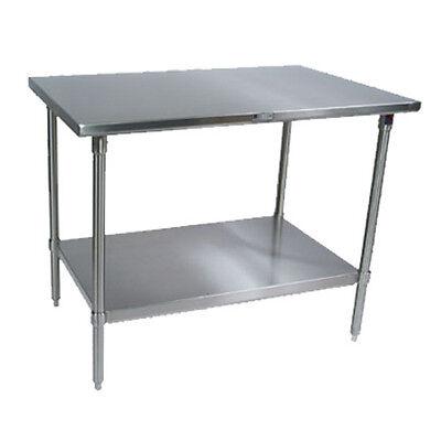 John Boos St6-3096ssk Work Table Stainless Undershelf 96w X 30d