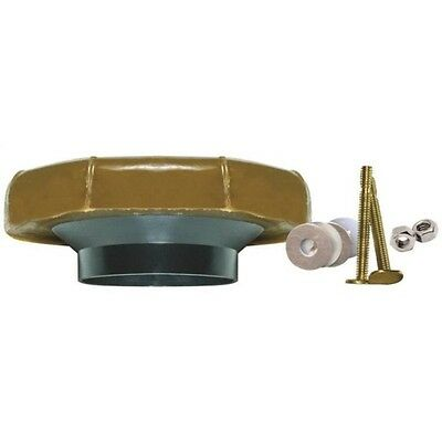 Fluidmaster 7512 Reinforced Toilet Wax Ring Kit with Flange and -