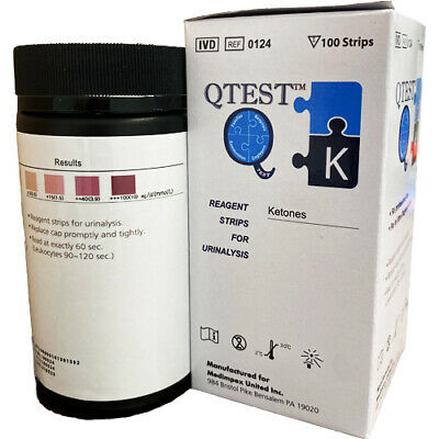 200 Ketone test strips urine ketosis atkins ketogenisis ketostix keto stick Diet