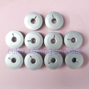 10-Aluminum-Slotted-M-Bobbins-For-Tin-Lizzie-Ansley ...