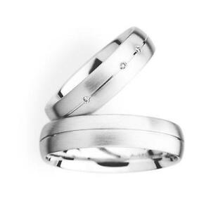 His And Hers Wedding Rings White Gold