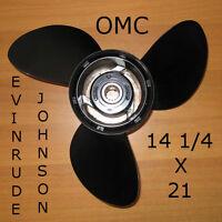 Elica Fuoribordo Originale 14 1/4x21 Omc Evinrude Johnson Alluminio - johnson - ebay.it