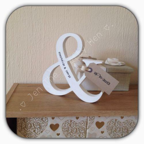 Freestanding white wooden letters ebay for Ebay wooden letters