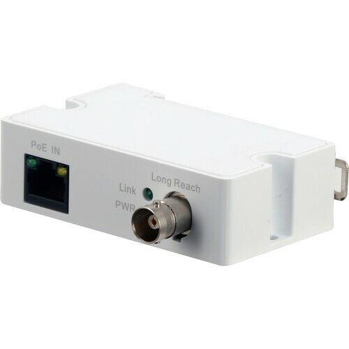 Dahua LR1002-1ET PoE IP Over Coax EoC Converter Single Port Long Reach Ethernet