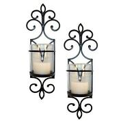 Glass Candle Wall Sconces
