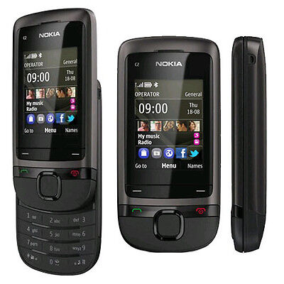 CELLULARE TELEFONINO NOKIA C2-05 BLACK E CON GARANZIA
