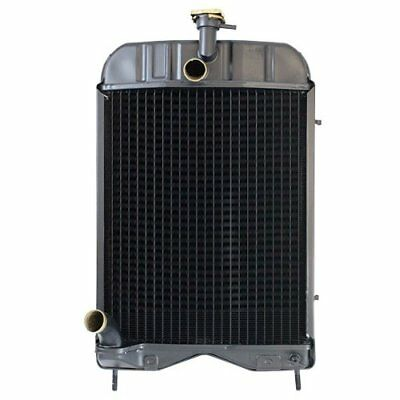 4 Row Radiator For Massey Ferguson Tractors 20 35 135 148 203 205 Oem 194275m94