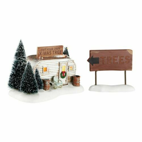 Dept 56 Christmas Vacation- Griswold Family Buys A Tree- New in Box- #4054985