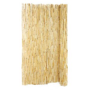 Bamboo Stakes (25) and Reed Privacy Fencing (2 rolls)