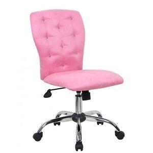 puter Chair Desk Girls Dorm Bedroom Adjustable Casters