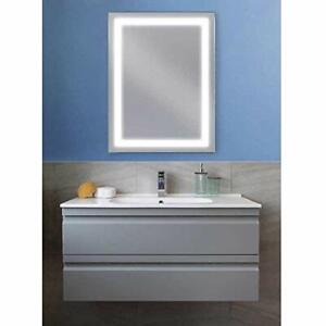 """Mirror for Bathroom with LED  24"""" X32"""""""