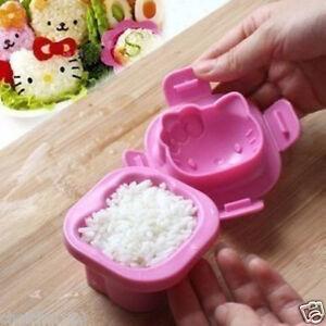Hello Kitty Egg rice Jelly Mold Mould Bento Box x 1pcs KK102
