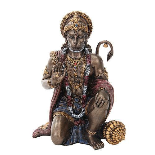 PTC 6 Inch Hanuman Mythological Indian Hindu God Resin Statue Figurine