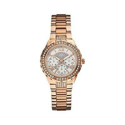 Guess Women's Analogue Quartz Watch With Stainless Steel Strap W0111L3