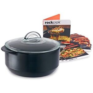 Brand New Pampered Chef Rockcrok 4 qrt Slow Cooker Set