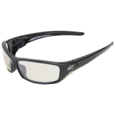 Edge Eyewear SR111AR Reclus Safety Glasses, Black with Clear Anti Reflective Len