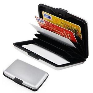Credit card wallet ebay aluminum credit card wallet reheart Images