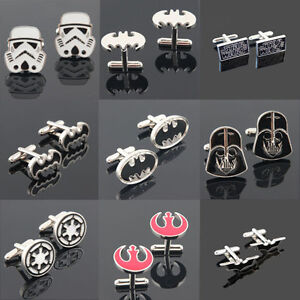 Star-Wars-Galactic-Empire-Stormtrooper-Rebel-Alliance-Batman-Cufflinks-Party