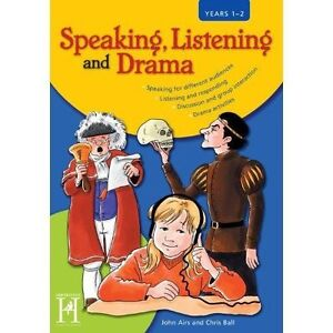 Speaking, Listening and Drama: KS1- Years 1/2